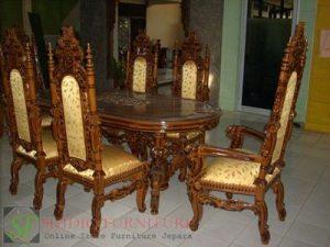 set kursi makan